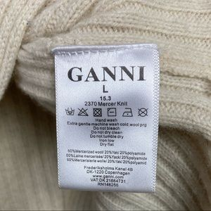 Ganni Sweaters - Ganni // Mercer Turtleneck Sweater Size L